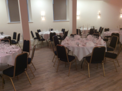 Private dining setup